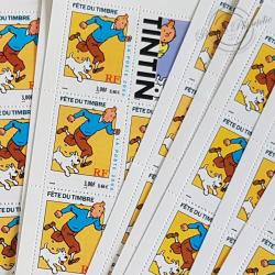 LOT DE 20 CARNETS TINTIN BC3305, FACIALE 64€