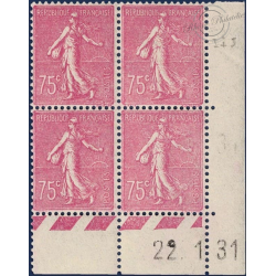 FRANCE N°202 TIMBRES TYPE SEMEUSE LIGNÉE-1924