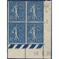 FRANCE N°205 TIMBRES TYPE SEMEUSE LIGNÉE, NEUFS-1924