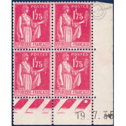 FRANCE N°289 TIMBRES TYPE PAIX TIMBRES NEUFS** - 1932-1933