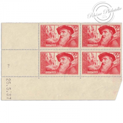 FRANCE COIN DATÉ N°344 AUGUSTE RODIN, TIMBRES NEUFS**-1937