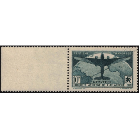 N°__321 ATLANTIQUE SUD TIMBRE NEUF ** 1936