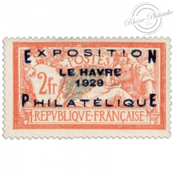 FRANCE N°257A, EXPOSITION DU HAVRE, TIMBRE NEUF*1929