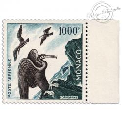 MONACO PA N°58 CORMORANS, TIMBRE NEUF**1955