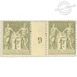 FRANCE MILLÉSIME N°82, TYPE SAGE, TIMBRES NEUFS*1900