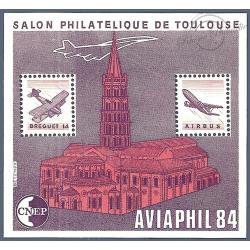 """BLOC CNEP N°5A toit coupé """"AVIAPHIL 84"""" LUXE"""