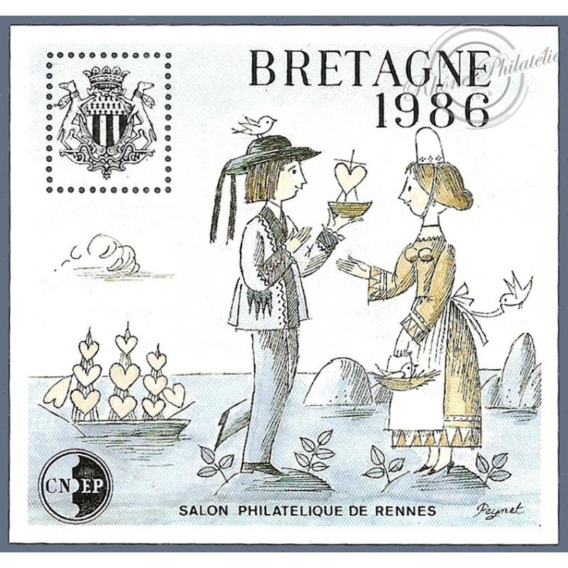 "BLOC CNEP N°7 ""BRETAGNE 1986"""