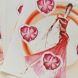 "LOT TIMBRES-POSTE EN €, BLOCS SAINT VALENTIN ""TORRENTE"""