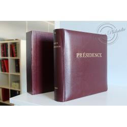 COLLECTION DE TIMBRES NEUFS** FRANCE 1977-1987 ALBUM CÉRÈS, PRÉSIDENCE N°2