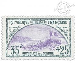 FRANCE N°152 ORPHELINS DE LA GUERRE, TIMBRE NEUF, 1917-1918