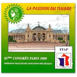 """BLOC FFAP N°2 """"CONGRES PARIS 2008"""""""