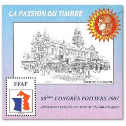 """BLOC FFAP N°1 """"CONGRES POITIERS 2007"""""""