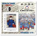 "BLOC CNEP N°_66 SALON DU TIMBRE ""PARIS 2014"" AUTOADHESIF"