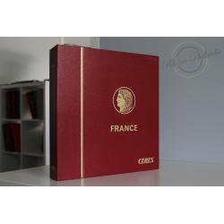 ALBUM CÉRÈS ROUGE, TIMBRES DE FRANCE 1940-1987