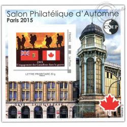 "BLOC CNEP N°_69 ""PARIS 2015. SALON PHILATELIQUE D'AUTOMNE"" AUTOADHESIF"