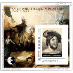 """BLOC CNEP N°_68 """"PARIS 2015. SALON DE PRINTEMPS"""" AUTOADHESIF"""