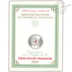 FRANCE CARNET CROIX-ROUGE N°2005, TIMBRES NEUFS-1956