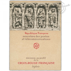 FRANCE CARNET CROIX-ROUGE N°2009, TIMBRES POSTE NEUFS**1960