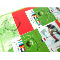 LOT TIMBRES-POSTE EN €, BLOCS COUPE DU MONDE 2002