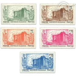 NLE-CALÉDONIE N°175 À 179 ANNIVERSAIRE RÉVOLUTION FRANÇAISE , TIMBRES NEUFS*1939
