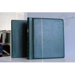 ALBUM LEUCHTTURM, POUR COLLECTION TIMBRES D'ANDORRE, 1928 À 2016