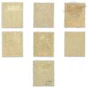 OCÉANIE N°14 À 20 SÉRIE COMPLÈTE GROUPE ALLÉGORIQUE, TIMBRES NEUFS*1900-07