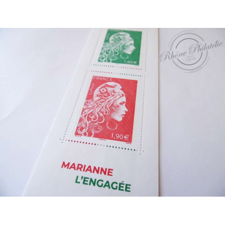 """CARNET """"MARIANNE L'ENGAGÉE"""""""