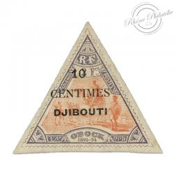 COTE DES SOMALIS N°32 TIMBRE POSTE TYPE VUE DJIBOUTI NEUF*1902