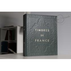 ALBUM YVERT&TELLIER POUR COLLECTION TIMBRES DE FRANCE 1970-1990