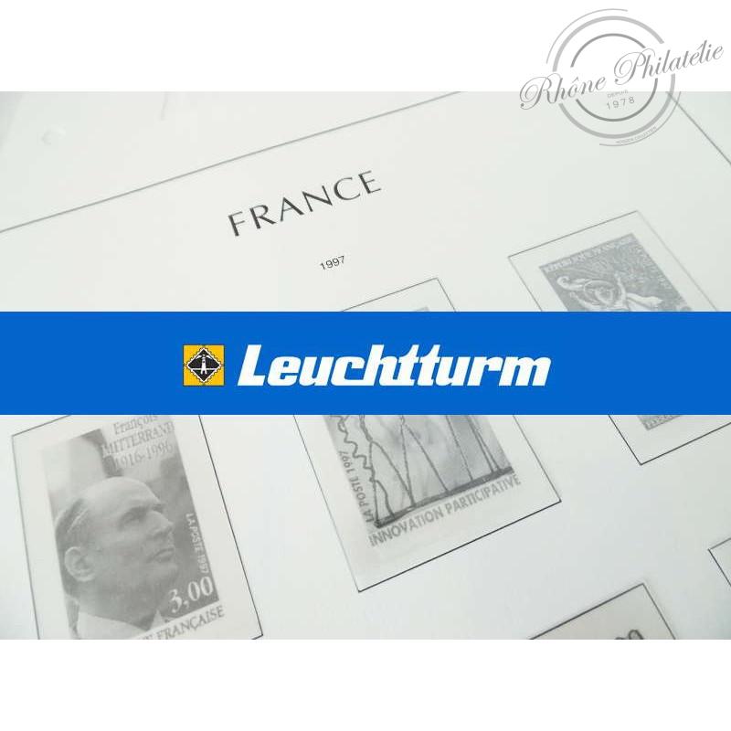 FEUILLES LEUCHTTURM POUR COLLECTION DE TIMBRE DE FRANCE 2018