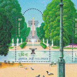 LOT TIMBRES-POSTE EN €, BLOCS SALON DU TIMBRE 2004 PARIS