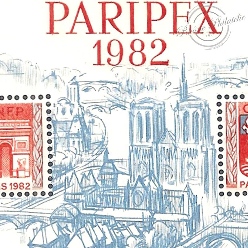 """BLOC CNEP N°3A """"PARIPEX"""" 1982"""