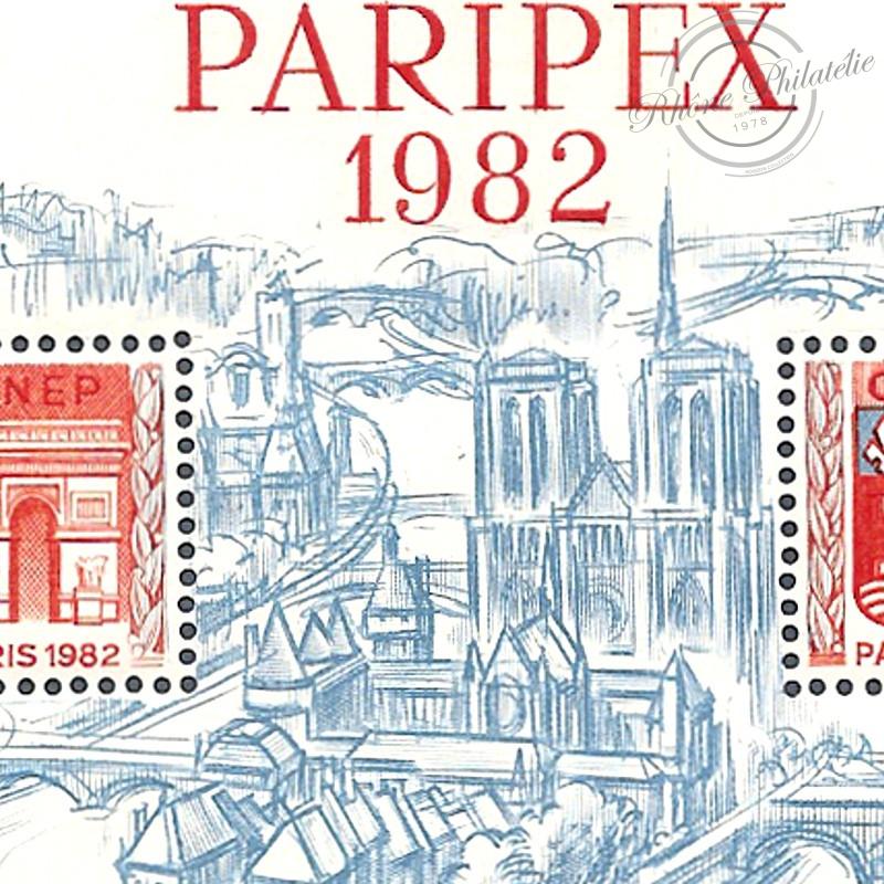 "BLOC CNEP N°3 ""PARIPEX"" 1982"