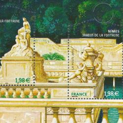 LOT TIMBRES-POSTE EN €, BLOCS SALON DU TIMBRE 2006 NIMES