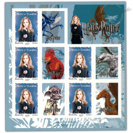 FEUILLE HARRY POTTER N°4026A ** 2007