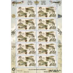 POSTE AÉRIENNE MICHEL COIFFARD-MAURICE BOYAU 2018 FEUILLE 10 timbres