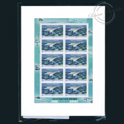 FRANCE FEUILLE PA N°F83a, 1ER VOL DU CONCORDE, TIMBRES NEUFS**2019-LUXE