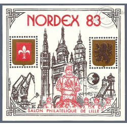 """BLOC CNEP N°4 """"NORDEX 83""""  LUXE"""
