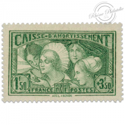 FRANCE N°269, CAISSE D'AMORTISSEMENT TIMBRE NEUF-1931