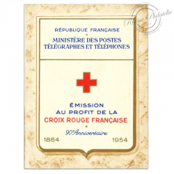 FRANCE CARNET CROIX-ROUGE N°2003, TIMBRES NEUFS**1954
