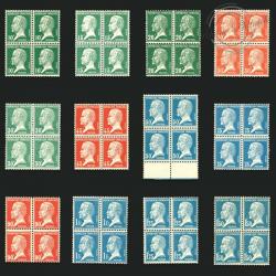 FRANCE N°170 À 181 SÉRIE TYPE PASTEUR, TIMBRES RARES-1923-26