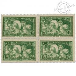FRANCE BLOC N°269, CAISSE D'AMORTISSEMENT, TIMBRES NEUFS-1931