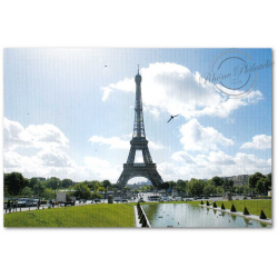 COLLECTOR LA TOUR EIFFEL CELEBRITE INTERNATIONALE, TIMBRES LETTRES MONDE 20G (2013) AUTOADHESIFS