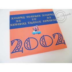 LE LIVRE DES TIMBRES FRANCE 2002