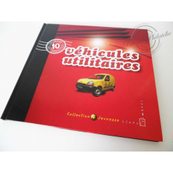 """LE LIVRE DES TIMBRES """"VÉHICULES UTILITAIRES"""" COLLECTION JEUNESSE"""