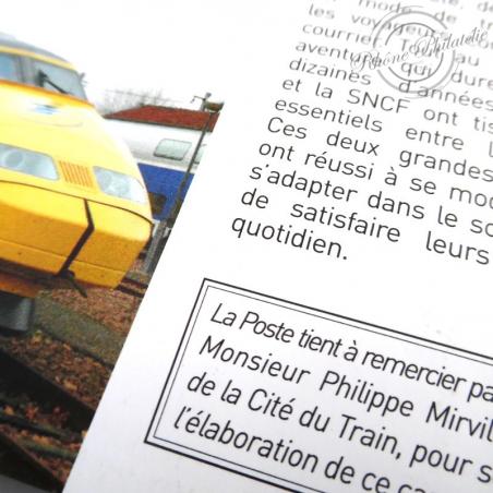 "CARNET ""LA GRANDE EPOPEE DU VOYAGE EN TRAIN"" COLLECTOR BC AUTOADHESIF"