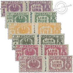 ITALIE N°46 À 51, TIMBRES COLIS POSTAUX NEUFS-1946