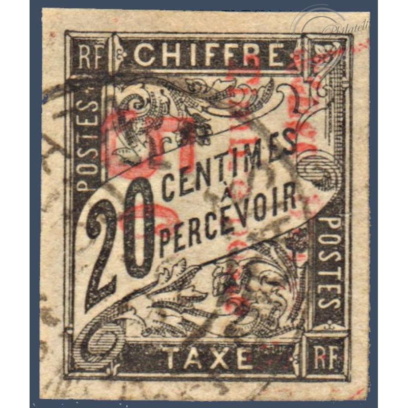 CONGO N°9 TIMBRE DES COLONIES FRANCAISES SURCHARGÉ, OBLITÉRÉ 1892