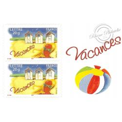 """CARNET """"BONNES VACANCES"""" BC53"""