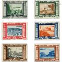 ITALIE POSTE AÉRIENNE N°42 À 47, VOYAGE DU GRAF ZEPPELIN RIO, TIMBRE NEUF-1933